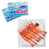 禧美 原裝進口 加拿大生食北極甜蝦刺身(MSC認證)1kg/盒 90-105只 日料刺身 *3件