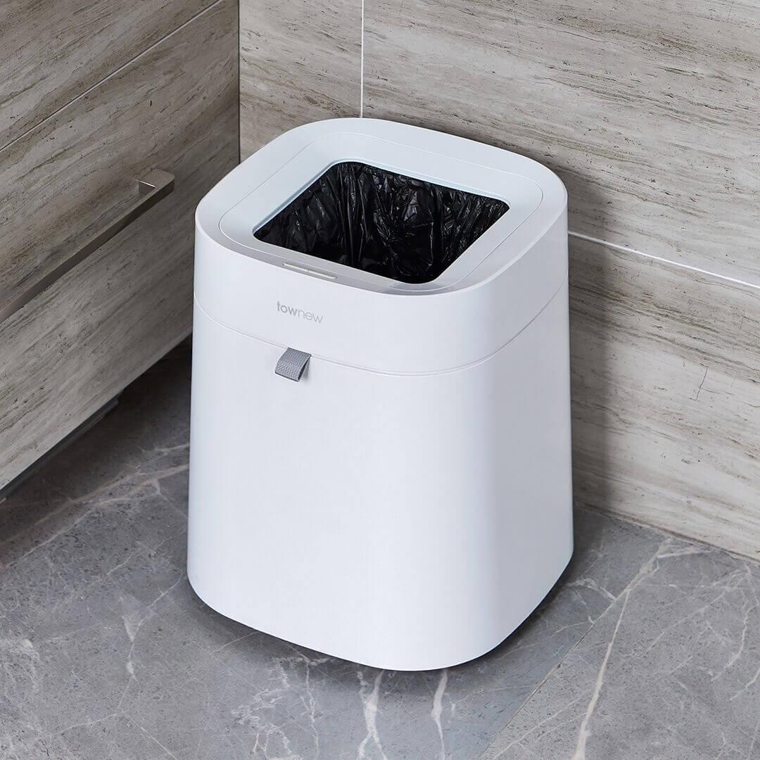 小米有品 拓牛 智能垃圾桶T Air陶瓷白