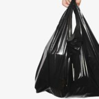黑色垃圾袋加厚手提式家用廚酒大中小號背心式馬甲塑料袋包郵批發