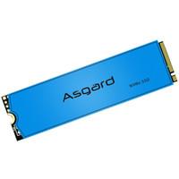 阿斯加特(Asgard)500GB SSD固態硬盤 M.2接口