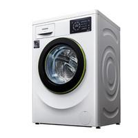 西门子 WM10L2600W白色 7.5公斤家用全自动变频滚筒洗衣机 全屏智能触控