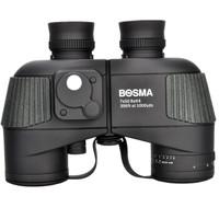 BOSMA 博冠 双筒望远镜野狼7X50高清高倍微光夜视非红外带风水罗盘测距坐标航海级防水军工