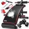 DDS 多德士 仰臥板家用仰臥起坐健身器材多功能腹肌訓練器收腹機腹肌板健身板   LJ114D