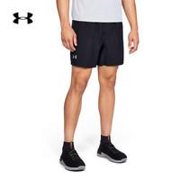 Under Armour 安德玛官方 UA男子Solid 7英寸运动短裤-1326568 黑色001 L