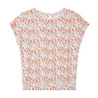 MAXWIN 马威 女式圆领印花短袖T恤