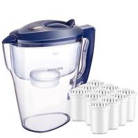 有券的上 : PHILIPS 飛利浦 WP2807  過濾凈水器 家用凈水壺 濾水壺  白色 +湊單品