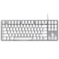 RAZER 雷蛇 黑寡妇蜘蛛轻装版 水银 机械键盘(雷蛇橙轴、白色背光)