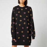 银联专享:Alexander McQueen 经典燕子图案 女款休闲针织裙