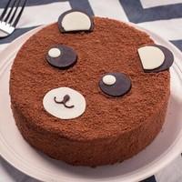 贝思客 Papi熊蛋糕儿童生日蛋糕  1磅 *2件