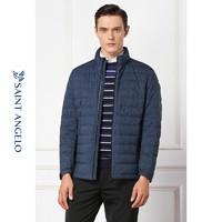 报?#26448;?018冬季新款男士商务休闲羽绒服 韩版修身短款立领潮外套