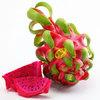 ?#20301;?#26524;品 越南红心火龙果 3-4个 4斤装大果 单果约450~800g *3件