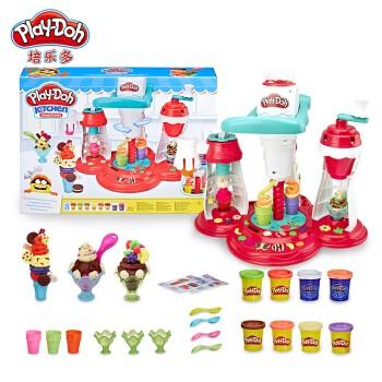 Play-Doh 培乐多 创意厨房系列 超级旋风冰激凌套装 E1935