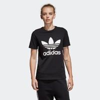 adidas Originals 阿迪达斯 三叶草 CV9888 女款圆领短袖运动T恤
