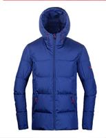 TOREAD 探路者 户外男女加厚保暖羽绒服 HADF91267/HADF92268 蓝色