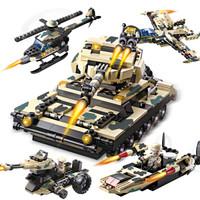 COGO 积高积木 13019 特战坦克八合一 *3件