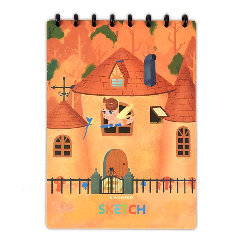ELFINBOOK SKETCH 智能涂鸦本 A4/15张 橘色