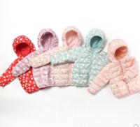 Oissie 奥伊西 1-4岁宝宝连帽羽绒服 白鸭绒