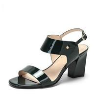 DAPHNE 达芙妮 女士一字带粗跟高跟鞋 多款可选
