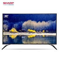 SHARP 夏普 XLED-40SF480A 40英寸 全高清 液晶电视
