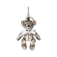 BURBERRY 巴寶莉 男士銀色棉質泰迪熊吊飾 80064751 *3件