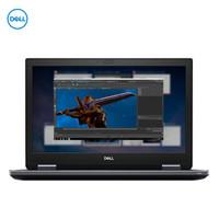 DELL 戴爾 Precision7740 17.3英寸移動圖形工作站筆記本(I7-9750H/32G/2TB固態/RTX5000 16G/100%sRGB)