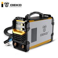 DEKO ZX7-300ED電焊機220V380V雙電壓兩用全自動純銅工業級家用小型便攜式全銅焊機 25方5米焊把線+2米接地線