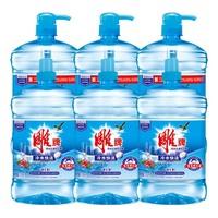 雕牌洗潔精 冷水去油洗潔精1.5kg*6超值裝 家用實惠不傷手食品用 *2件