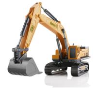 兒童工程車挖掘機 合金玩具 單只裝