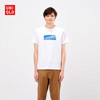 UNIQLO 优衣库 X MARVEL 420828 男士短袖T恤