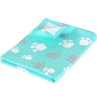 象寶寶(elepbaby)嬰兒全棉床單幼兒園兒童床嬰兒床床單純棉140*90cm(綠色腳Y) *2件