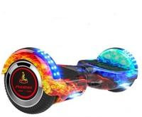 PHOENIX 鳳凰 兒童平衡車成人代步越野兩輪便攜手提智能體感車 6.5寸紅藍火焰 6.5寸越野平衡車