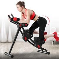 多德士健腹器家用多功能腹肌健身器材可折疊瘦肚子減肥懶人收腹機美腰機 商用款-分軌可折疊美腰機