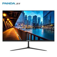 百亿补贴:PANDA 熊猫 P24FA2 23.8英寸IPS显示器 (1920*1080、75Hz、非曲面)