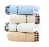 孚日潔玉純棉毛巾 經典素色柔軟強吸水洗臉巾4條裝 愛丁堡暢想毛巾 33x70cm *2件