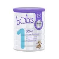 bubs 贝儿 婴幼儿配方羊奶粉 1段 800g * 3罐