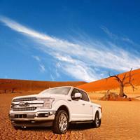 全款   福特(Ford)2018款墨版 F-150 白金版 整車 白色