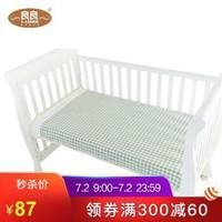良良(liangliang) 嬰兒涼席 竹絲沁心涼席嬰兒床用 綠色 110*60cm *5件