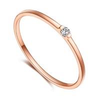 CHJ 潮宏基 BRN006026711 18k金 钻石戒指