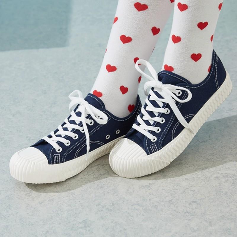 Meters bonwe 美特斯邦威 202492 情侣款帆布鞋