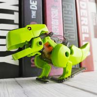 欢想 太阳能机器人玩具 机甲恐龙3合1