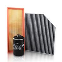 曼牌濾清器含活性炭濾芯三濾套餐適用奧迪A4LQ5A5