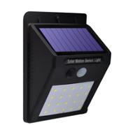 英西 太陽能燈戶外壁燈人體光控感應燈超亮室外防水防曬led庭院燈路燈投光燈