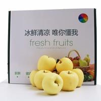 淳果一木 甘肅黃金帥 16個蘋果禮盒裝 大果75-90mm 約8斤