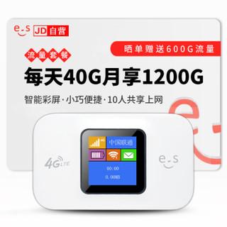 华正易尚 4G无线路由器车载移动随身随行wifi直插SIM卡托mifi上网宝移动联通电信 4G三网通+支持联通移动4G3G电信4G