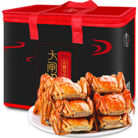 隆上记 大闸蟹现货礼盒 公2.5-2.9两/只 母2.0-2.4两/只 10只装