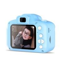 anyrec兒童照相機寶寶益智玩具迷你智能數碼高清相機仿真單反卡通照相機男女孩生日禮物網紅玩具 藍色