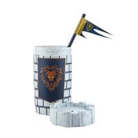 影時光 魔獸世界周邊 1100ml大容量陣營城堡可樂杯創意收納桶