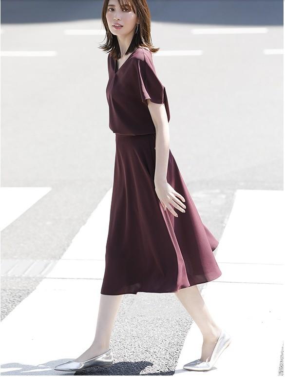 UNIQLO 优衣库 421920 女士花式大摆裙