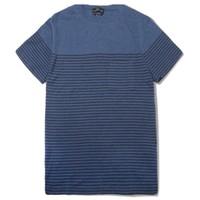 A.P.C. 饰口袋条纹短袖T恤