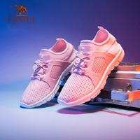 CAMEL 駱駝 男童鞋2019春夏新款兒童運動鞋男童網鞋跑步鞋女中大童潮板鞋